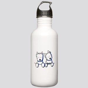 Pocket Westie Duo Stainless Water Bottle 1.0L