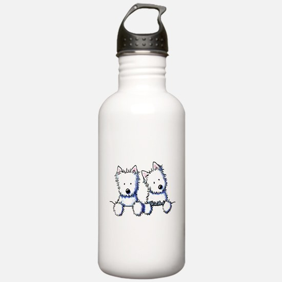Pocket Westie Duo Water Bottle