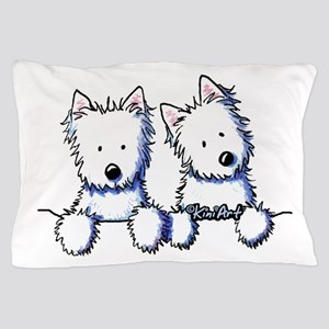Pocket Westie Duo Pillow Case