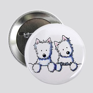 "Pocket Westie Duo 2.25"" Button"