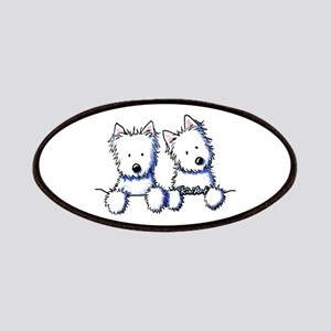 Pocket Westie Duo Patches