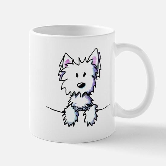 Pocket Westie Caricature Mug
