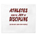 The Joy of Discipline King Duvet