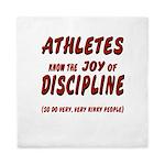The Joy of Discipline Queen Duvet