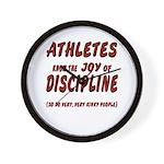 The Joy of Discipline Wall Clock