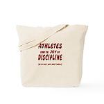 The Joy of Discipline Tote Bag