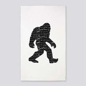 Bigfoot Sasquatch Yowie Yeti Yaren Skunk Ape 3'x5'