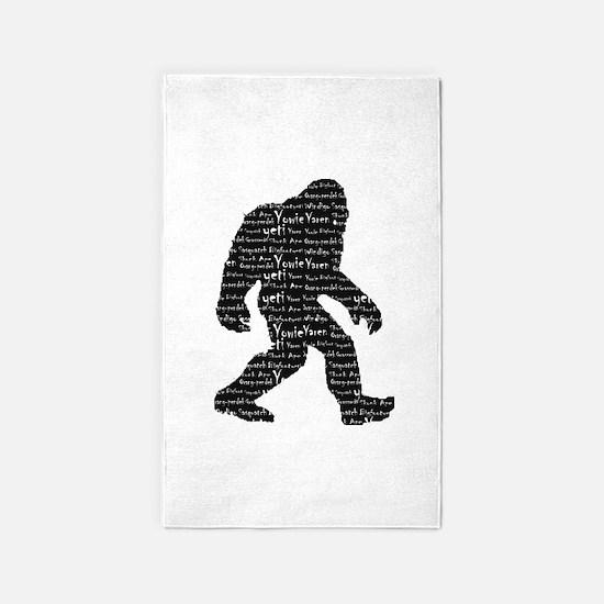 Bigfoot Sasquatch Yowie Yeti Yaren Skunk Ape 3'x5'