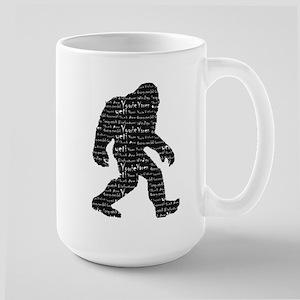 Bigfoot Sasquatch Yowie Yeti Yaren Skunk Ape Mug