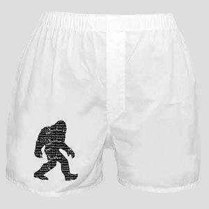 Bigfoot Sasquatch Yowie Yeti Yaren Skunk Ape Boxer