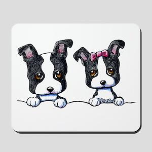 KiniArt Boston Terrier Mousepad