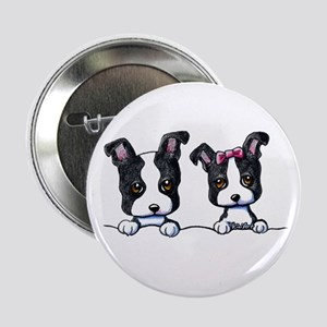 "KiniArt Boston Terrier 2.25"" Button"