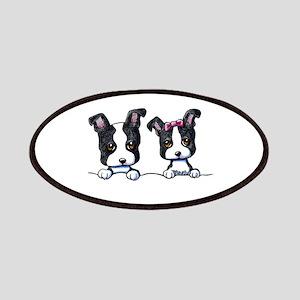 KiniArt Boston Terrier Patches