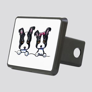 KiniArt Boston Terrier Rectangular Hitch Cover