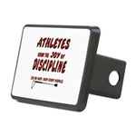 The joy of discipline Rectangular Hitch Cover