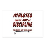 The joy of discipline Postcards (Package of 8)