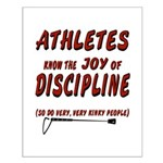 The joy of discipline Small Poster