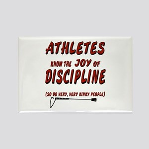 The joy of discipline Rectangle Magnet