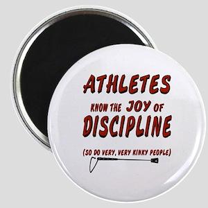 The joy of discipline Magnet