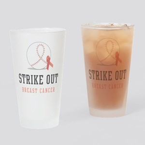 Strike Out Drinking Glass