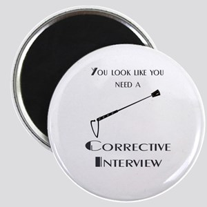 Corrective interview Magnet