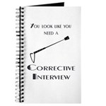 Corrective interview Journal