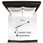 Corrective interview King Duvet