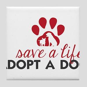 Save a Life Tile Coaster