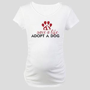 Save a Life Maternity T-Shirt