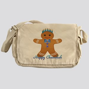 Chanukah Gingerbread Man Messenger Bag