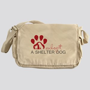 Adopt a Shelter Dog Messenger Bag
