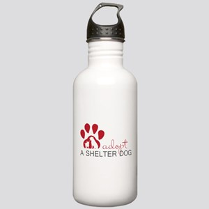 Adopt a Shelter Dog Water Bottle