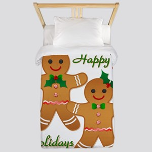 Gingerbread Man - Boy Girl Twin Duvet