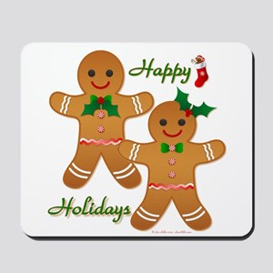 Gingerbread Man - Boy Girl Mousepad
