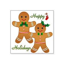 Gingerbread Man - Boy Girl Sticker