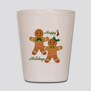 Gingerbread Man - Boy Girl Shot Glass