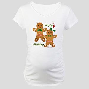 Gingerbread Man - Boy Girl Maternity T-Shirt