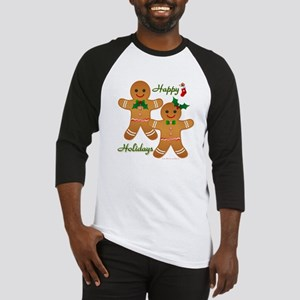 Gingerbread Man - Boy Girl Baseball Jersey