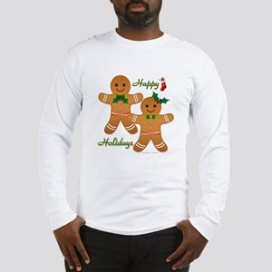 Gingerbread Man - Boy Girl Long Sleeve T-Shirt