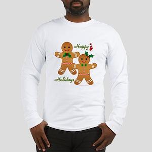 Gingerbread Man - Boy Girl Long Sleeve T-Shirt