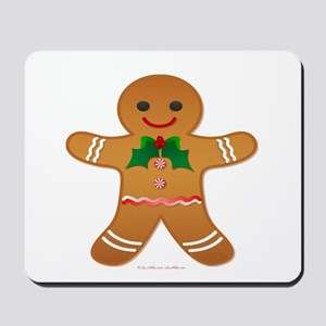 Gingerbread Man - Boy Mousepad