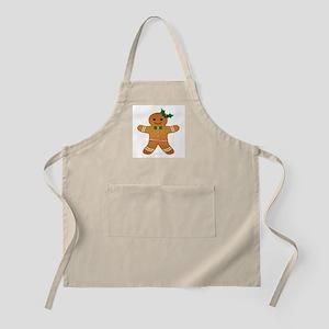 Gingerbread Man - Girl Apron