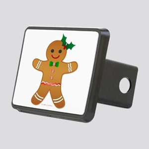 Gingerbread Man - Girl Hitch Cover