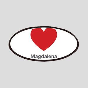 Magdalena Big Heart Patches