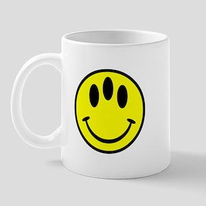Evolution Happy Face Mug