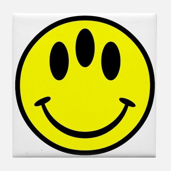Evolution Happy Face Tile Coaster