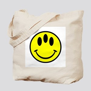 Evolution Happy Face Tote Bag