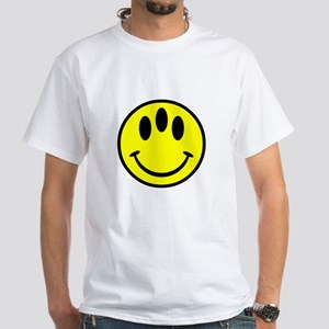 Evolution Happy Face White T-Shirt