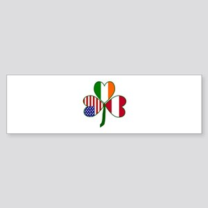 Shamrock of Austria Sticker (Bumper)