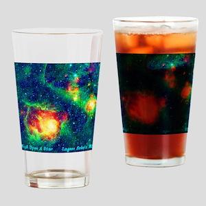 Lagoon Nebula M8 Drinking Glass